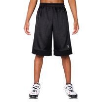 AND1 Men's All Court Short Polyester Basketball Shorts Black Large