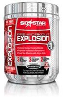 Six Star Pro Nutrition Pre-Workout Explosion Fruit Punch Powder