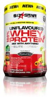 Six Star Elite Series Whey Protein Plus Unflavoured Multi Purpose Mix