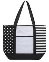 GEORGE FRONT POCKET TOTE - NAUTICAL
