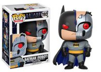 Funko Pop! Heroes: Animated Batman - Batman (Robot) Styles May Vary Due To Extra Rare Chase Figure