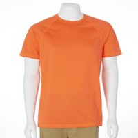 Athletic Works Men's Performance T-Shirt Orange L