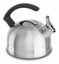 KitchenAid® 2.0-Quart Kettle with C Handle and Trim Band - Metallic