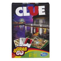 Hasbro Gaming Clue Grab & Go Game