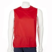 Athletic Works Men's Muscle Shirt Red M
