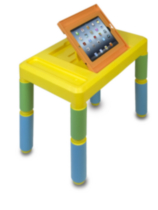 Adjustable Kids Activity Table for iPad