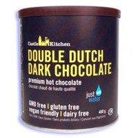 Chocolat chaud de haute qualité chocolat noir sans gluten Double Dutch de Castle Kitchen