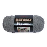Bernat Premium Yarn Soft Grey Heather