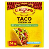 Old El Paso ™ Smart Fiesta™ Taco Seasoning Mix Reduced Sodium