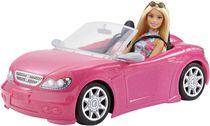 Ens. de Poupée Barbie et Décapotable Rose