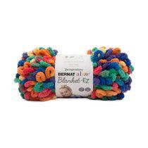 Bernat Alize Blanket- EZ Yarn, Bright Purple, 6.4oz(180g), Jumbo, Polyester