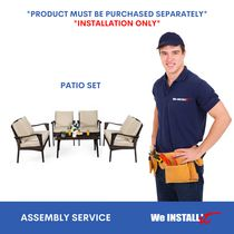 Home Installation Service for Outdoor Patio Set by We Install It Services