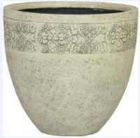 hometrends 40x40x35.5 cm Fiberglass Planter