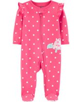 2b50c0606 Child of Mine made by Carter's Newborn girls' Sleep N Play Outfit - turtle