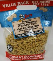 Joe's Tasty Travels Roasted Jumbo Virginia Peanuts Unsalted VP