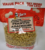 Joe's Tasty Travels Roasted Peanuts Jumbo Virginia Peanuts