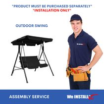 Home Installation Service for PORCH SWING by We Install It Services