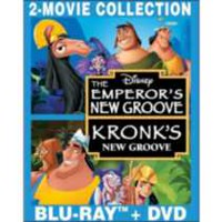 The Emperor's New Groove / Kronk's New Groove (3-Disc Special Edition) (Blu-ray + 2 DVDs)