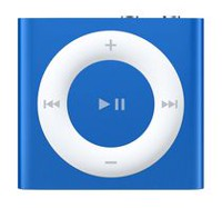iPod Shuffle 2GB (4th Generation) Blue