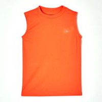 Athletic Works Boys' Muscle Shirt Orange M