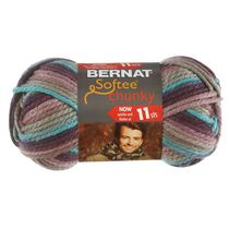 Bernat Softee Chunky Yarn Mixed Colours