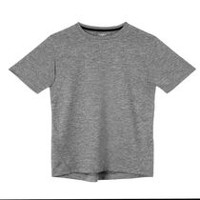 Athletic Works Boys' Active Tee Grey M