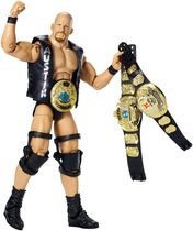 Figurine Stone Cold Steve Austin de la collection Elite Moments marquants de WWE