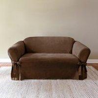 Housses de sofa d coratives chez walmart for Housse pour causeuse