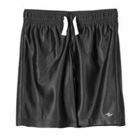 Athletic Works Boys' Training Shorts Black M