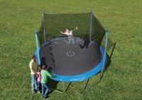 Trainor Sports 12' Trampoline & Enclosure Combo