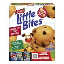 Mini-muffins aux pépites de chocolat Little Bites Sara Lee, sans arachides