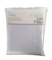 George Waterproof Crib Mattress Pad with Straps