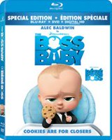 The Boss Baby (Blu-ray + DVD + Digital HD)(Bilingual)