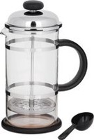 Trudeau Maison Coffee Press with Chrome Plate Lid