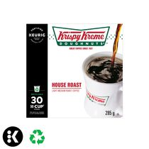 Keurig® Krispy Kreme Doughnuts® torréfaction Maison café de torréfaction légère-moyenne capsules K-Cup®  recyclables