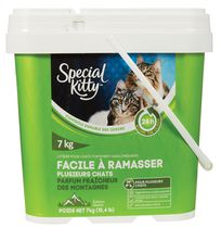 Special Kitty Scoopable Scented Tight Clumping Cat Litter