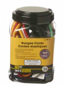 Variety Pack Bungees 24 Pieces
