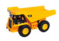 Cat - Job Site Machine Light & Sound Dump Truck