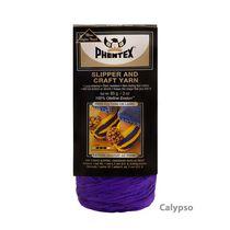 Phentex Slipper & Craft Yarn, White, 85g, Medium, Olefin