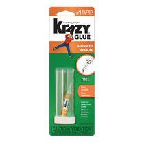 Krazy Glue Advanced Extra-Strength Formula Instant Glue, 1.9ml Tube