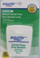Equate Mint Waxed Dental Floss