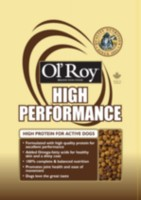 Ol'Roy High Performance Brand Dog Food 16KG