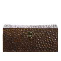 HOMETRENDS® Honeycomb Patterned Wood Box