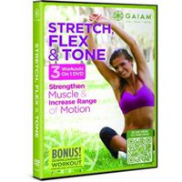 Gaiam: Stretch, Flex & Tone