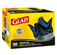 Glad Easy-Tie® Regular Garbage Bags