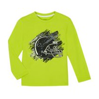 George Boys' Long-Sleeved Graphic Tee Green XL