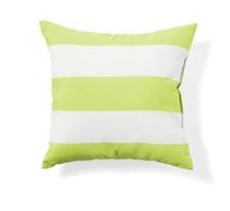 hometrends 20 Inch Reversible Toss Cushion Green