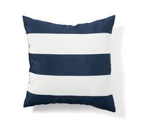 hometrends 20 Inch Reversible Toss Cushion Navy
