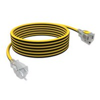 "Stanley Shopcord LiteMax 25' 14/3"" Outdoor Extension Cord With Lighted Ends"