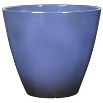 "hometrends Decorative 10"" Plastic Planter Blue"